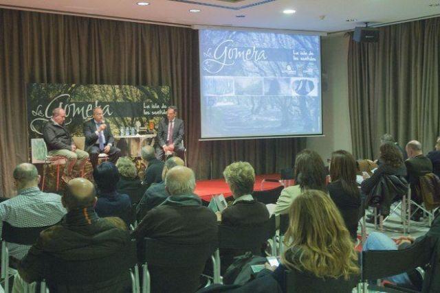 Rueda de prensa del Cabildo de La Gomera en Madrid