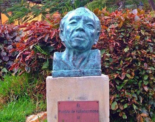 Busto de Pedro garcia Cabrera en Vallehermoso