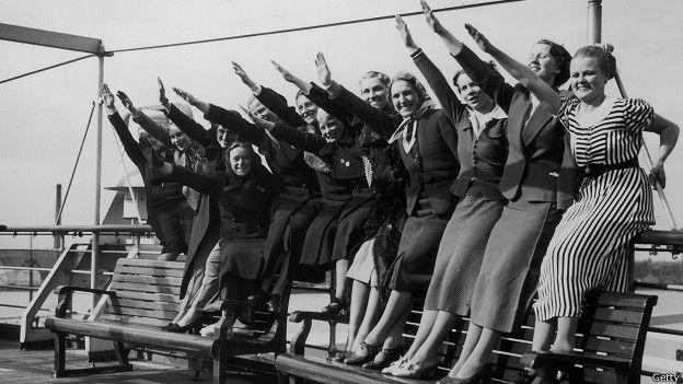 Resultado de imagen de sociedad nazi