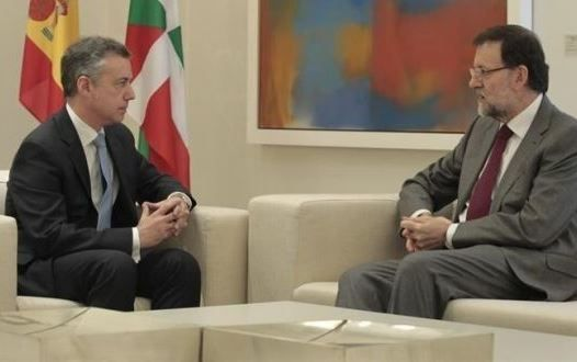 Rajoy con Urkullu
