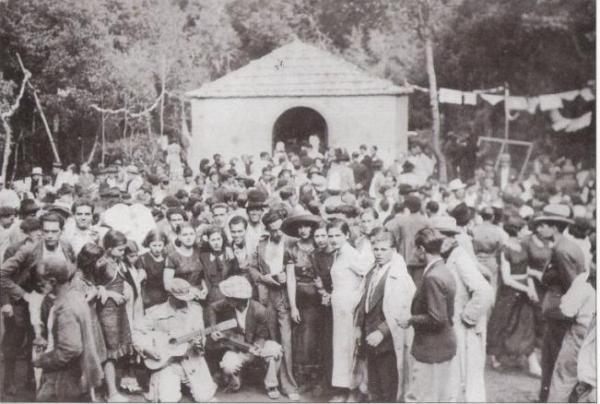 Primera fiesta de El Cedro (Hermigua) 1935