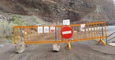 Decretado el cierre pista de acceso a Argaga