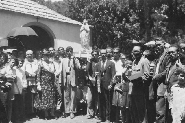 Inauguración de la Ermita de El Cedro en 1935