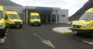 Sanidad presenta este lunes una nueva ambulancia medicalizada para La Gomera