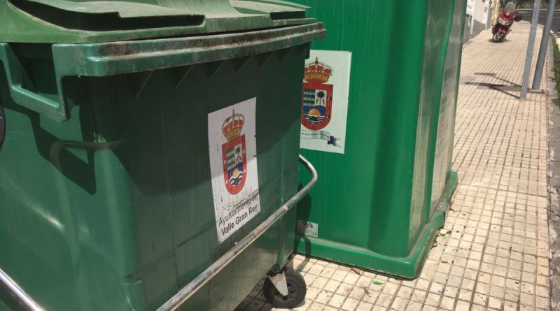 Coalición Canaria de Valle Gran Rey preocupada por la nueva frecuencia de recogida selectiva
