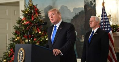 Donald Trump reconoce Jerusalén como capital de Israel