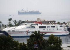 """Naviera Armas sopesa traer el catamarán """"Alcántara Dos"""" a La Gomera"""