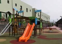 Vallehermoso estrena nuevo parque en el Casco
