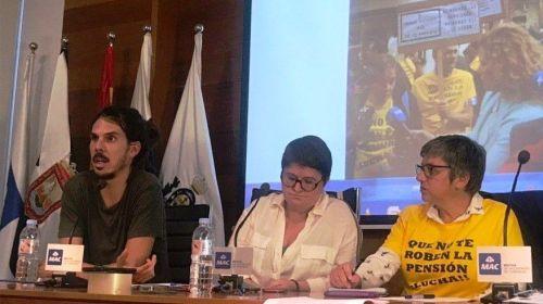 """Alberto Rodríguez: """"dignificar las pensiones es cuestión de valentía política, la que le ha faltado al Gobierno de Pedro Sánchez"""""""