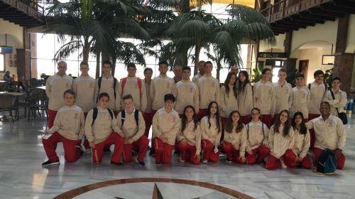 Una treintena de jóvenes deportistas gomeros participan en los campeonatos de Canarias