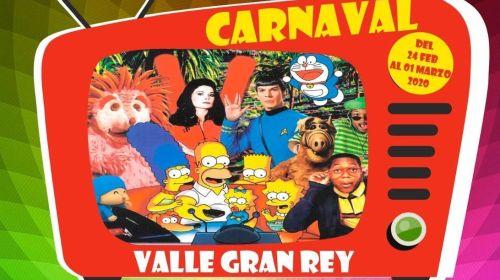 """Valle Gran Rey reprograma su Carnaval 2020 """"Televisión y Series"""""""