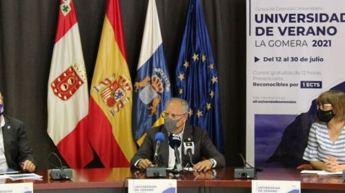 El Cabildo y la ULL presentan la nueva edición de la Universidad de Verano de La Gomera
