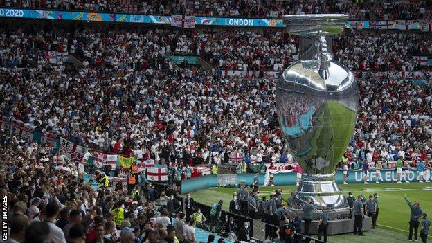The UK government allowed more than 60,000 fans to attend the semi-finals and final of Euro 2020 at Wembley