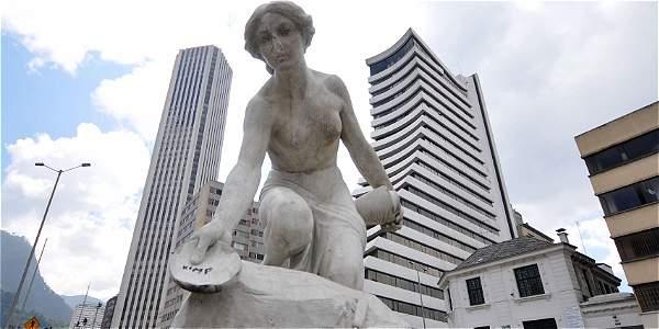 Resultado de imagen para museo cielo abierto bogota esculturas