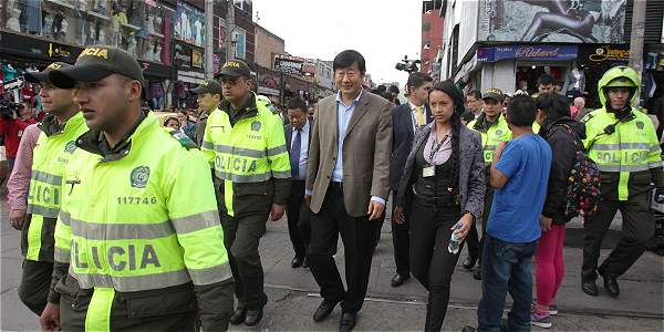 Embajador de China visitó San Victorino