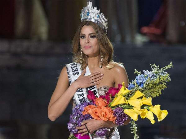 Coronación en Miss Universo 2015