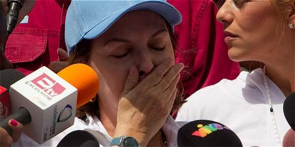 Mitzy Capriles, esposa del alcalde Antonio Ledezma.