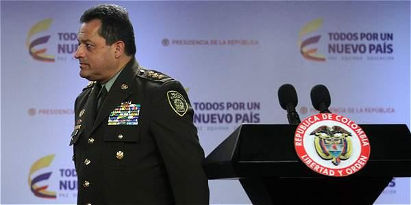 El general Jorge Hernando Nieto se pronunció este jueves sobre su trabajo como nuevo director de la Policía Nacional.