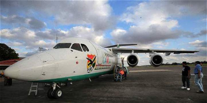 Este es el Avro-RJ85 de matrícula CP-2933 que se accidentó a pocos kilómetros de Rionegro.
