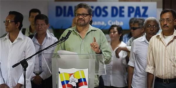 Iván Márquez, jefe negociador de las Farc en La Habana.