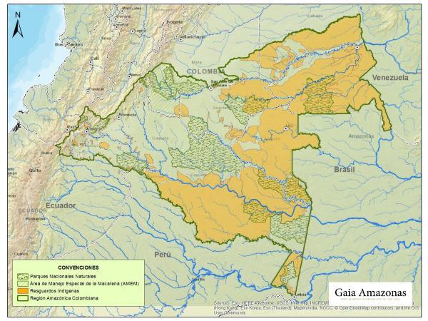 Mapa chiribiquete