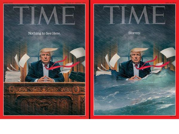 Portades de Time sobre Trump