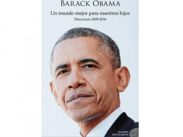 Libro con los discursos de Barack Obama