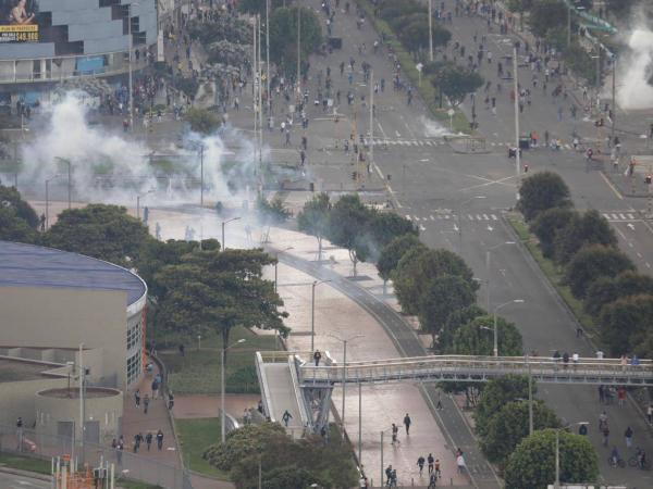 Disturbios Suba