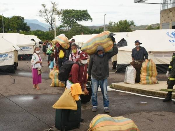 Migrantes en Norte de Santander