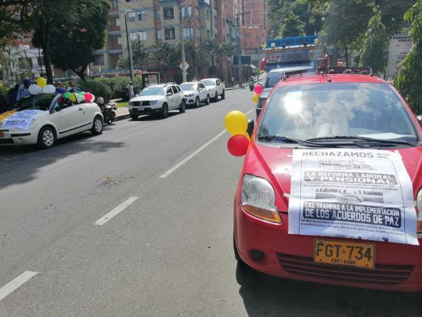Protestas en Medellín