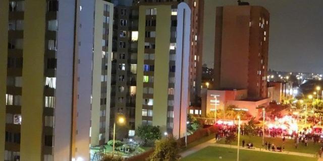 Explosión en el norte de Bogotá