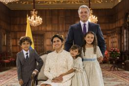 Las últimas primeras damas de Colombia