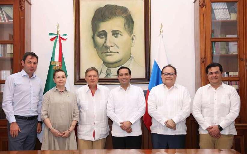 El Embajador de Rusia en México visita Yucatán