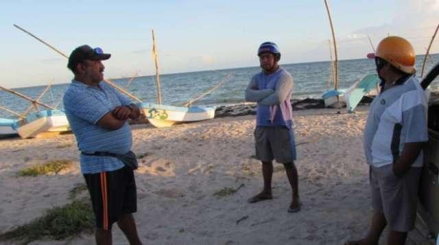 Norte azotaría el viernes y afectaría la pesca