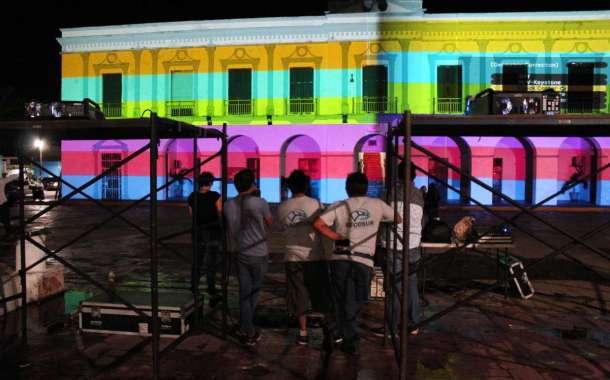 """""""Palacio de luz"""" promete ser un espectáculo inolvidable para progreseños y turistas"""