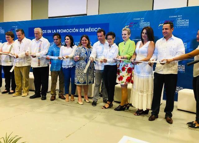 Yucatán participa en el décimo Congreso de Turismo Médico en Cozumel