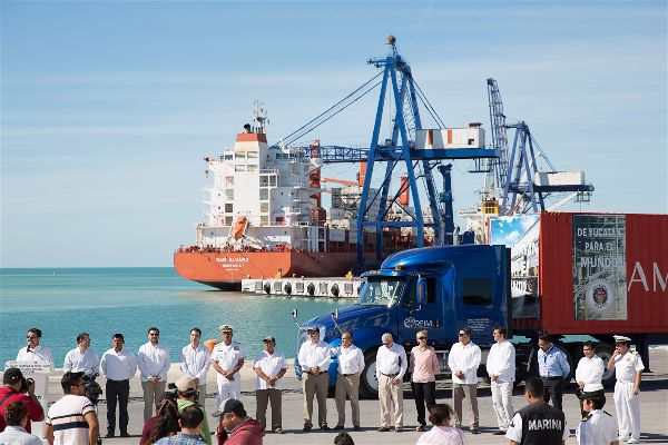 Yucatán se consolida como polo de exportación en el sureste