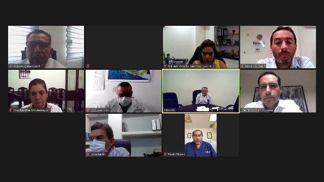 Reunión ante contingencia por el Coronavirus.