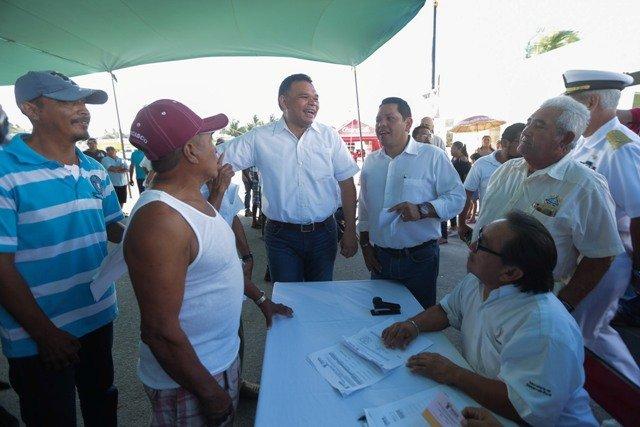 Alivio para la economía familiar de pescadores yucatecos
