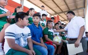 Se fortalece tejido social con deporte y sano esparcimiento