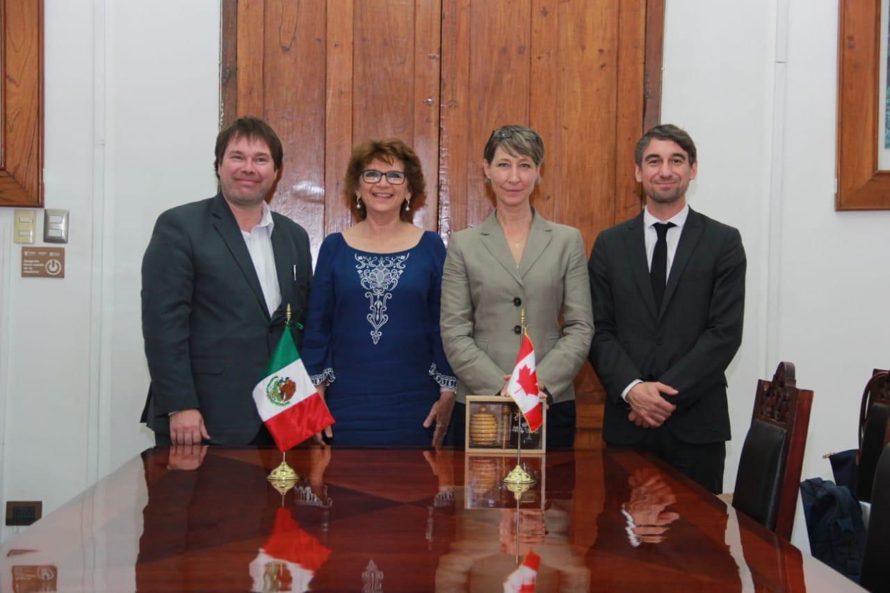 Yucatán y Quebec colaboración bilateral