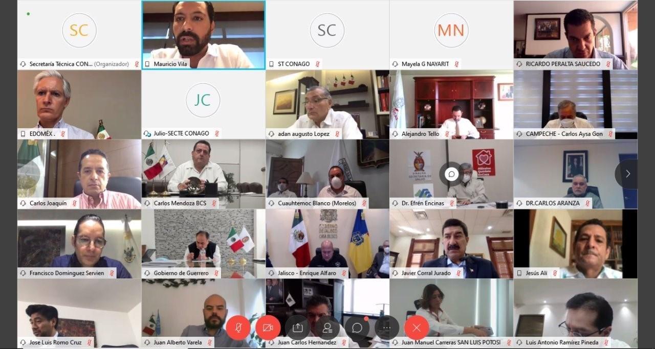 Preside Mauricio Vila reunión nacional de la CONAGO
