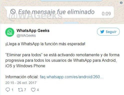 WhatsApp lanza la función más esperada