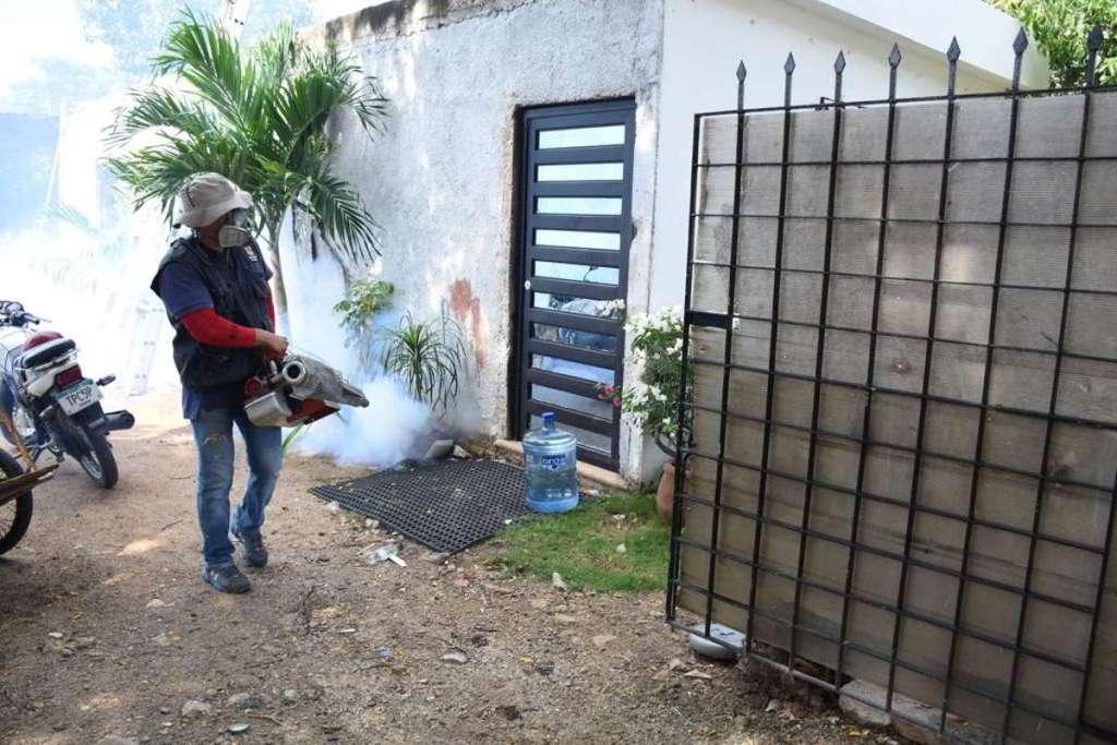 Combate al dengue en Yucatán