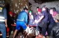 Se derrumbó una pared en plena boda en Perú