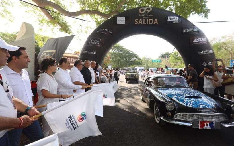 El Gobernador inaugura el Rally Maya México 2019