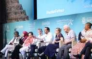 El Gobernador comparte panel con líderes mundiales de la paz