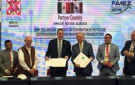 México y Canada firman acuerdo técnico