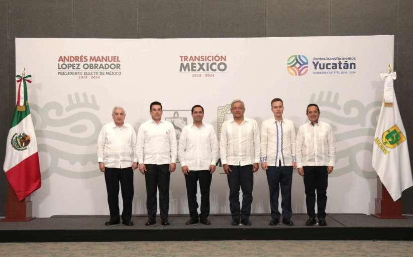 Se fortalece coordinación Vila - AMLO en proyecto del Tren Maya