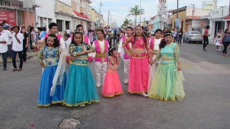 Poca participación en el desfile infantil del carnaval
